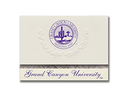 amazon com signature announcements grand canyon university rotc