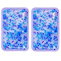 Hot and Cold Gel Bead Ice Pack (2-Pack) by FOMI Care | Lavender Scented | Reusable...