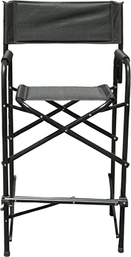 Impact Canopy 284009002-VC Tall Director s Chairs Pack of 2, Black
