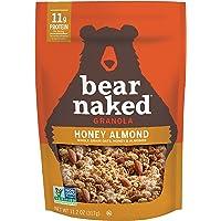 Bear Naked Honey Almond Granola - Non-GMO, Kosher, Vegetarian Friendly - 11.2 Oz