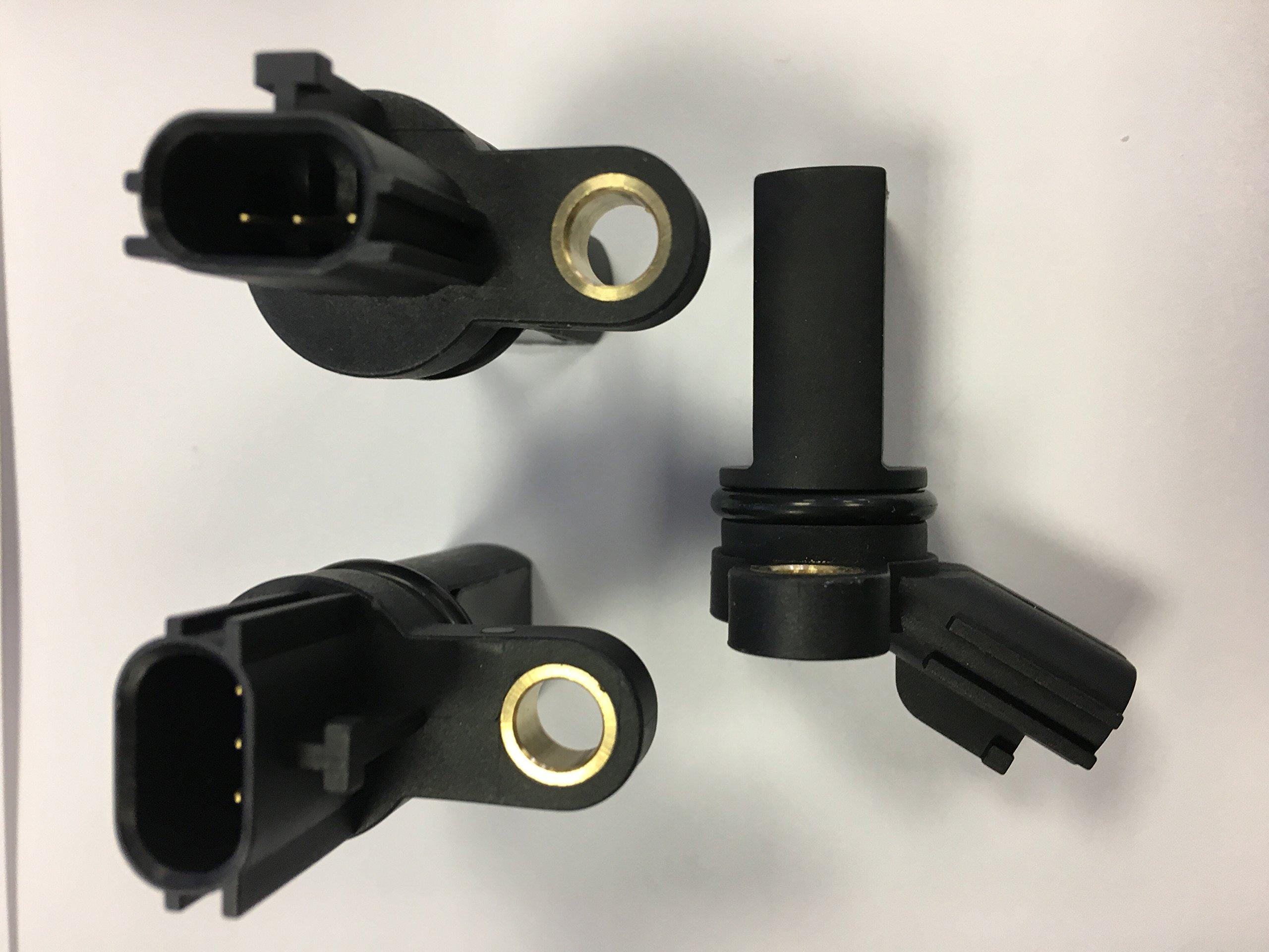 3 Piece Kit Camshaft Crankshaft Position Sensors For INFINITI & NISSAN 23731-AL61A & 23731-AL60C & 23731-6J90B