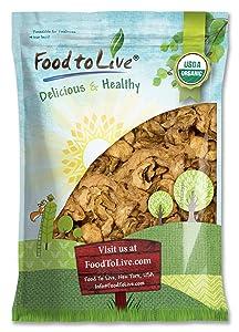 Organic Dried Apple Rings, 5 Pounds - Non-GMO, Kosher, Raw, Vegan, Unsulfured, Bulk