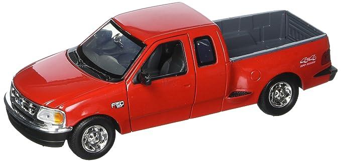 Amazon Com Motormax 1 24 Ford F 150 Pickup Truck Flareside Supercab
