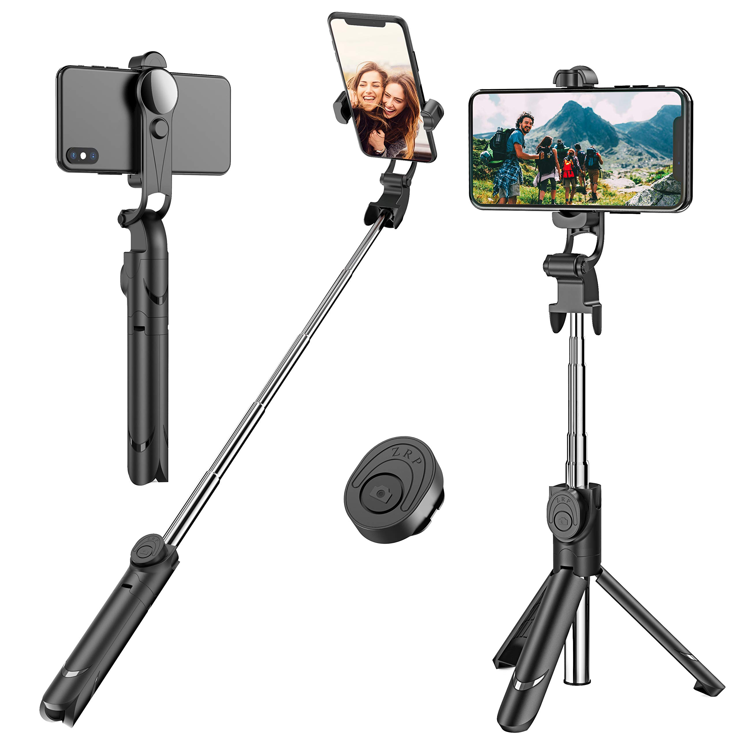 Selfie Stick, Extendable Selfie Stick Tripod with Detachable Wireless Remote and Tripod Stand Selfie Stick for iPhone X/iPhone 8/8 Plus/iPhone 7/7 Plus, Galaxy S9/S9 Plus/S8/S8 Plus/Note8,Huawei,More by Erligpowht