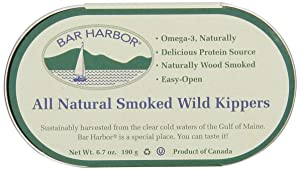 Bar Harbor Wild Smoked Kippers, 6.7 Ounce (Pack of 12)