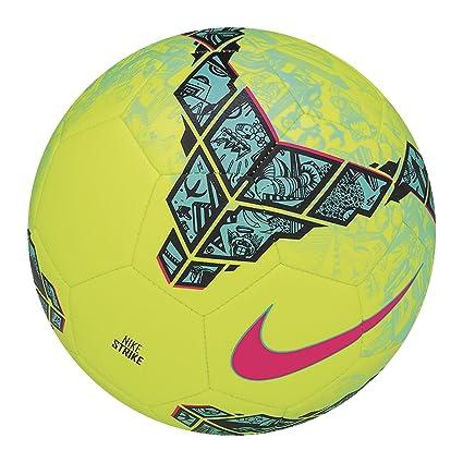 Nike Strike FC247 - Balón de fútbol, color amarillo, talla 3 ...