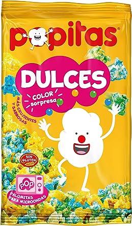 Popitas Dulces Color Sorpresa - 100 gr , Pack de 6: Amazon.es ...