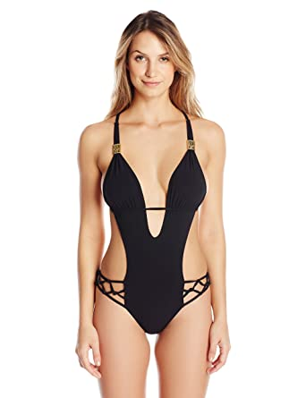 380e5514348 Sauvage Women's Spider Macrame One Piece at Amazon Women's Clothing ...