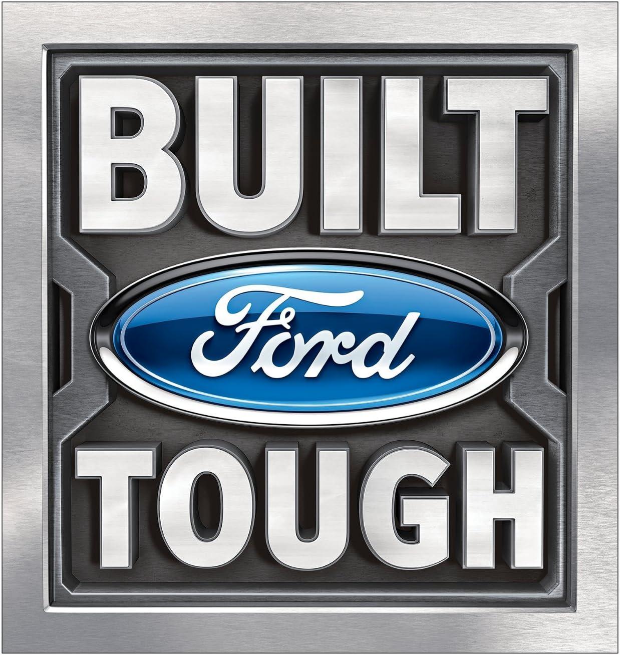 """Genuine Ford Parts Nostalgia Tin Sign 12/"""" x 12/"""""""