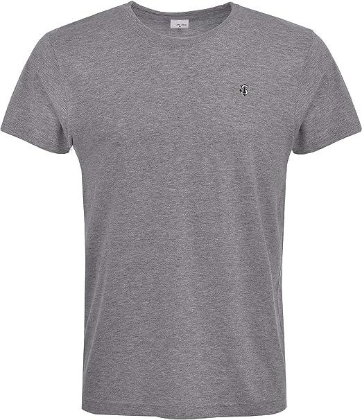 John Shark Camiseta para Hombre, diseño Casual, Camiseta de Manga ...