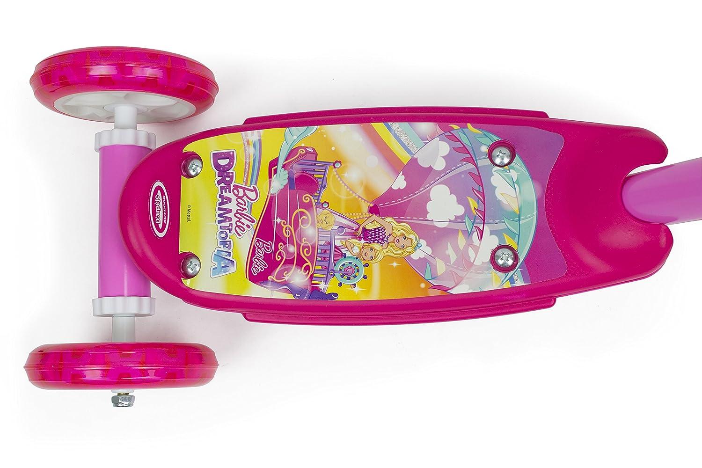 Barbie-OBBD110 Patinete, Color Barbie, única (DArpèje ...