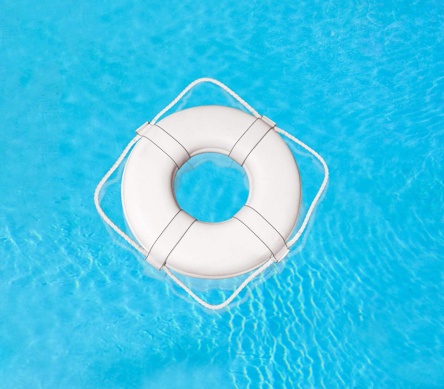 Poolmaster 55551 Coast Guard Approved Ring Buoy, 30'' Diameter by Poolmaster (Image #3)