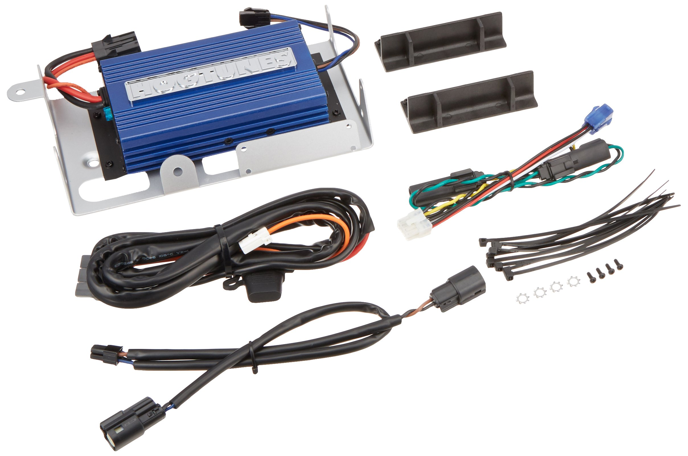 Hogtunes REV200-RM Amplifier Kit (REV Series 200 Watt Amp Kit for 2014-2016 Harley-Davidson Touring Models with Factory Radio) by Hogtunes