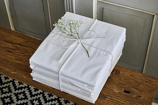 Linen Quarter - Sábana bajera ajustable clásica, 100 % algodón ...