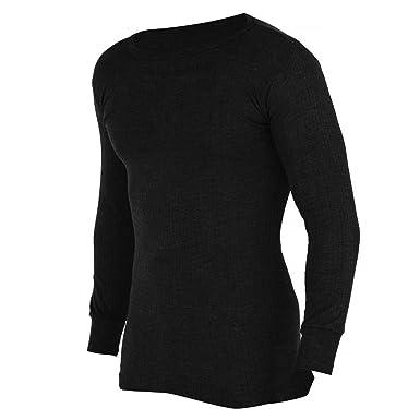 8924d4ebc9 FLOSO® Herren Thermo-Unterhemd, Langarm (Brustumfang: 81-86 cm (