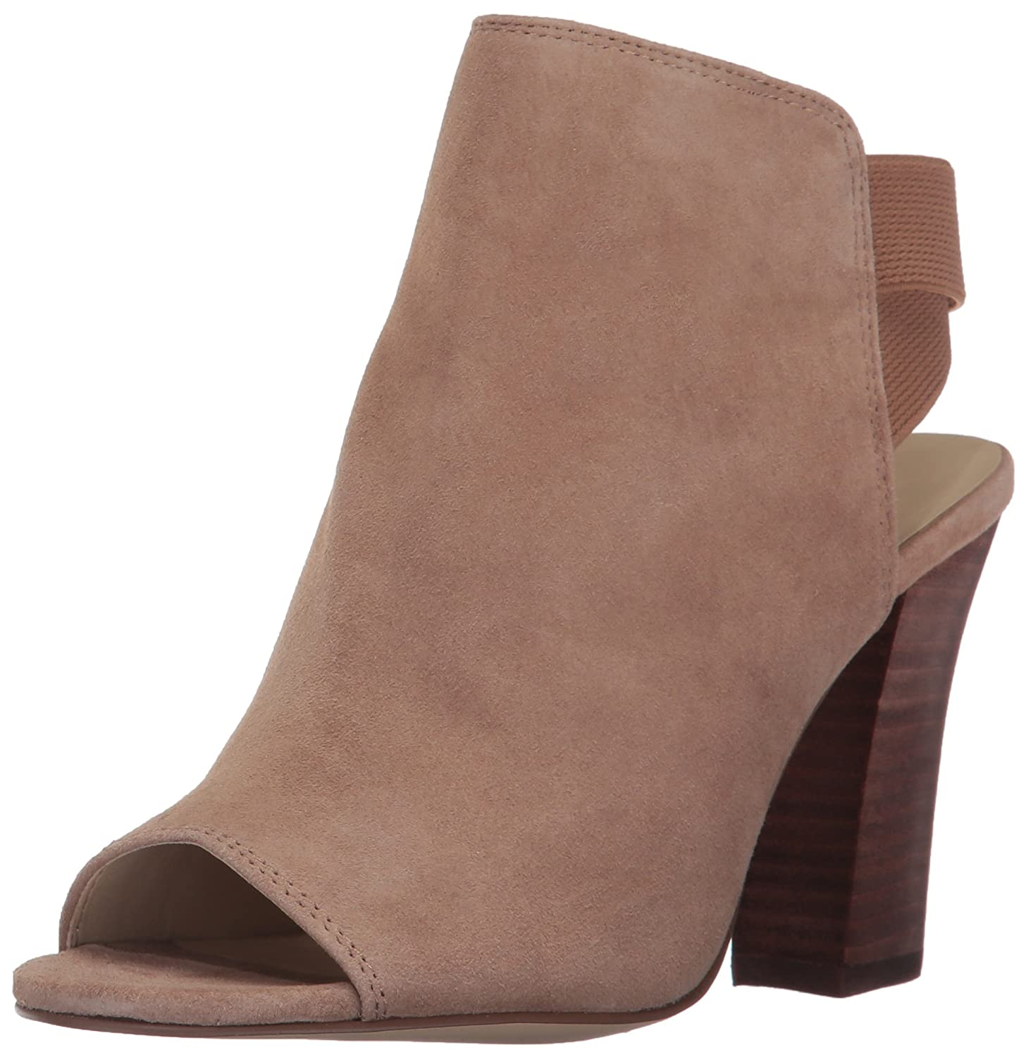 Nine West Women's Zofee Suede Ankle Boot B01NBELCO6 11 B(M) US|Natural