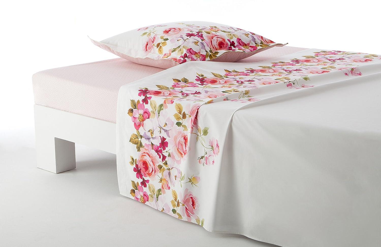 Anne de Solene Rose King Flat Sheet Lady ASLLADYDP62USA0301270