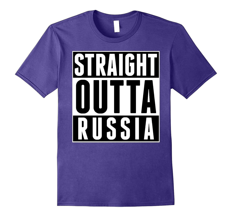 Straight Outta Russia Moscow Russian Pride I Love Russia-FL