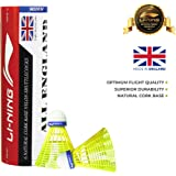 Li-Ning All England Nylon Shuttle, Pack of 6