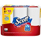 Scott Paper Towels Choose-A-Sheet, 6 Mega Rolls, White, 102 Sheets per Roll