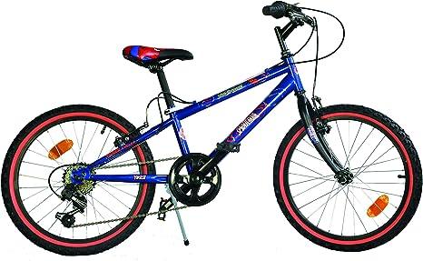 Dino Bikes - Bicicleta para niño (50,8 cm), diseño de Spiderman ...