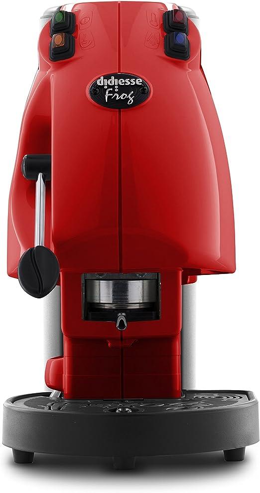 Didiesse Frog Revolution - Cafetera monodosis (650 W), color rojo ...
