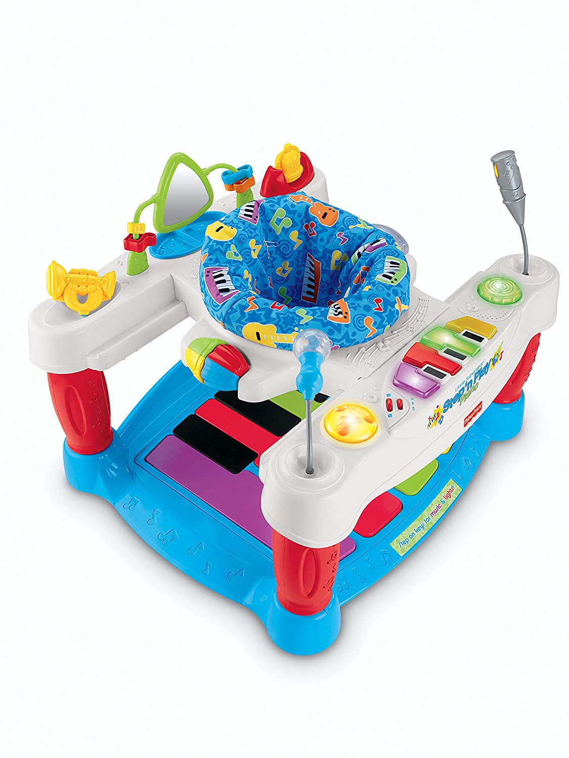 92c633259 Amazon.com   Fisher-Price Step  n Play Entertainer Piano   Baby ...