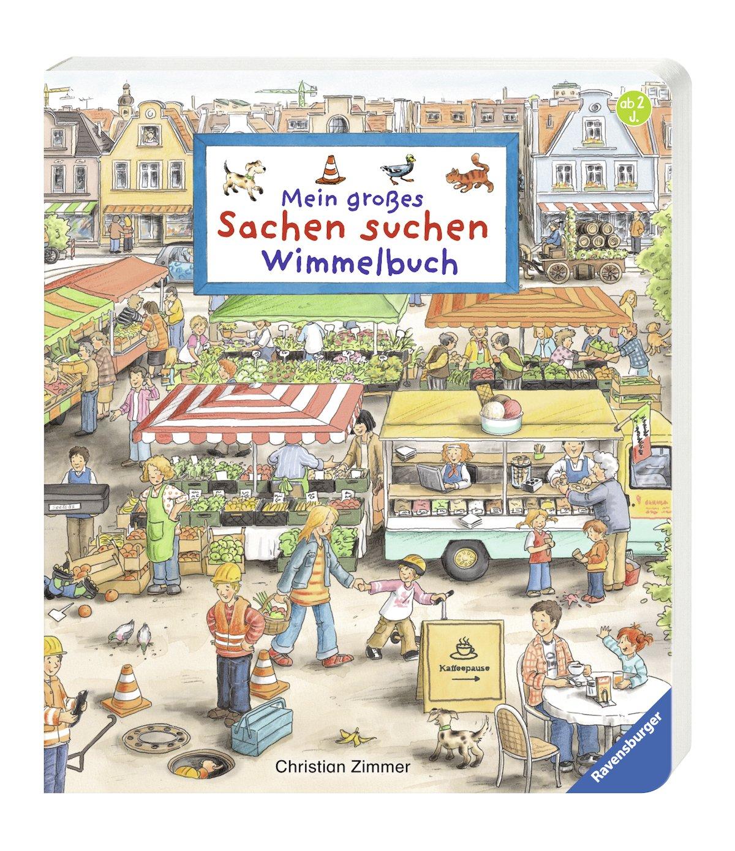 Mein großes Sachen suchen - Wimmelbuch: Amazon.de: Susanne ...