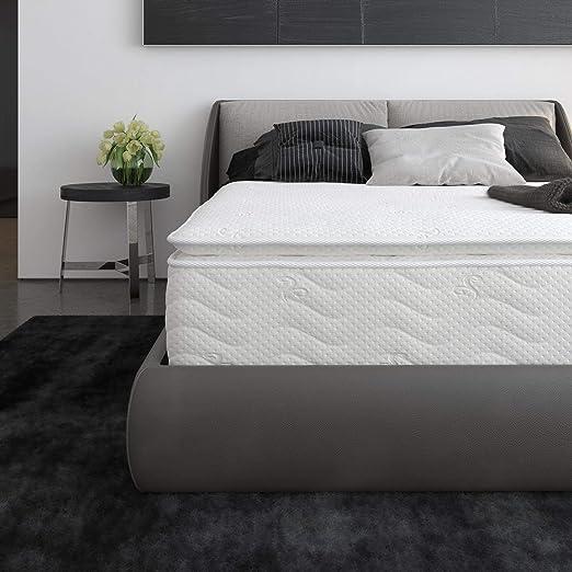 Amazon Com Signature Sleep Contour 12 Inch Hybrid Independently