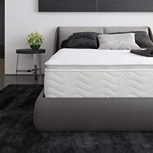 Signature Sleep Contour 12-Inch Hybrid Independently Encased Coil Mattress, Queen Size