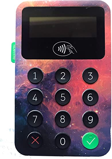 Cosmic Space-016 Personalise Your Card Reader iZettle Card Reader 1 /& 2 Custom Skins