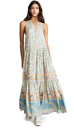 e53f38d67dbc Spell and the Gypsy Collective Women's Oasis Maxi Dress, Opal, Medium