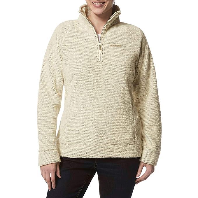 Craghoppers Womens Ambra Fleece Half Zip Sweater Ladies Jumper Pullover