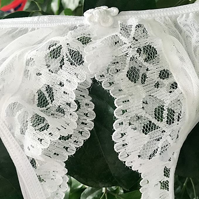 Luckycat Tanga Tangas de Mujer Ropa Interior Mujer Tangas de Encaje Pantalones de Tanga Tangas Sexys Mujer Cintura Baja Ropa Interior Bragas Malla Bragas: ...