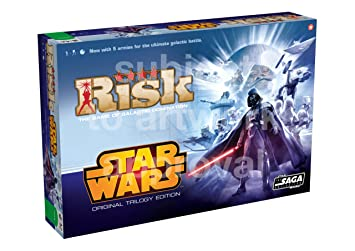Buy Hasbro Star Wars Risk Original Trilogy Edition Online At Low Prices In India Amazon In