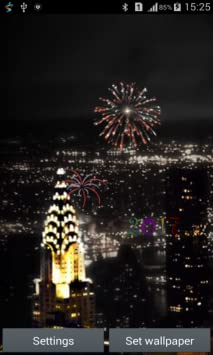 Amazon.com: New year Fireworks Live Wallpaper: Appstore for