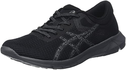 Nitrofuze 2, Zapatillas de Entrenamiento para Mujer, Multicolor (Black/Glacier Grey/Carbon), 36 EU Asics