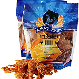 product image for KONA'S CHIPS 2 Pack Bits-O- Chips 8 OZ; Small Dog Treats