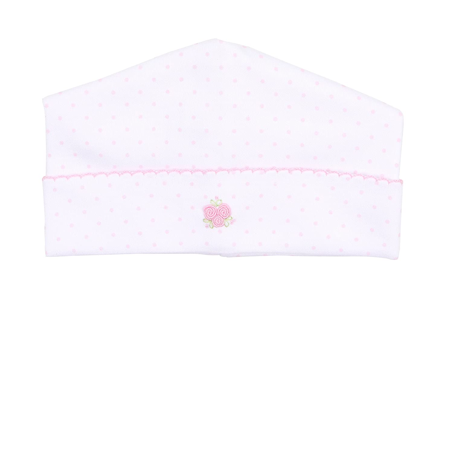 Magnolia Baby Baby Girl Isabellas Classics Embroidered Hat Pink