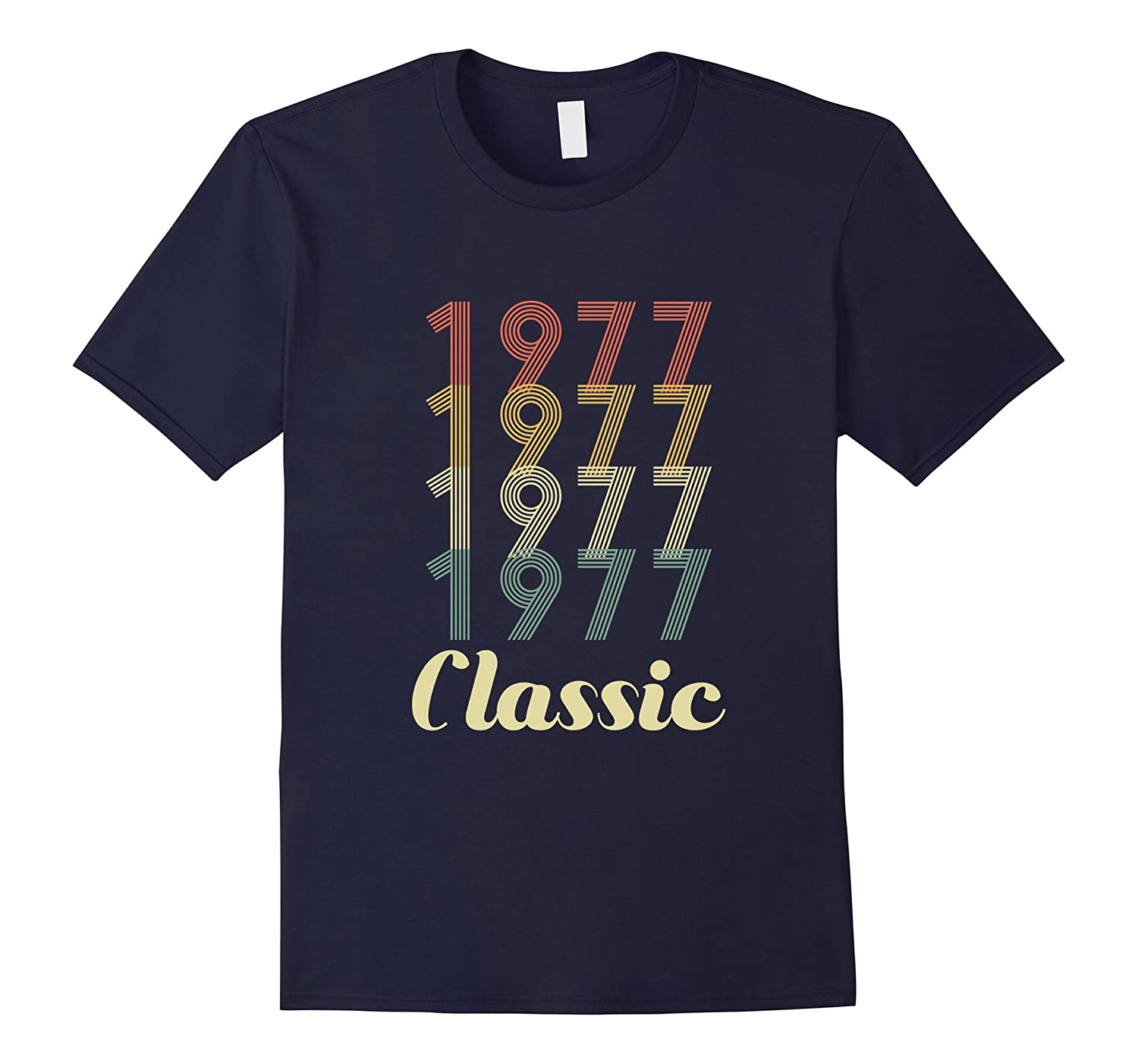 40th Birthday Vintage Gift - Classic 1977 Novelty T Shirt-FL