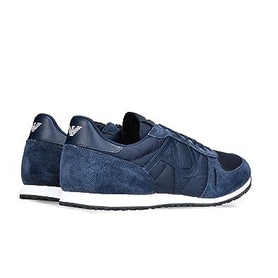 ab2ef42455d83 Emporio Armani Sneaker Armani, Sneakers Basses Homme  Amazon.fr ...