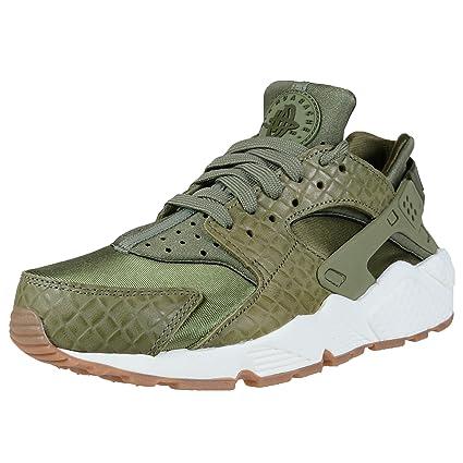 separation shoes 5b11c 979b2 ... shop nike womens air huarache run premium palm green sail leather  683818 300 5c1b6 401b2