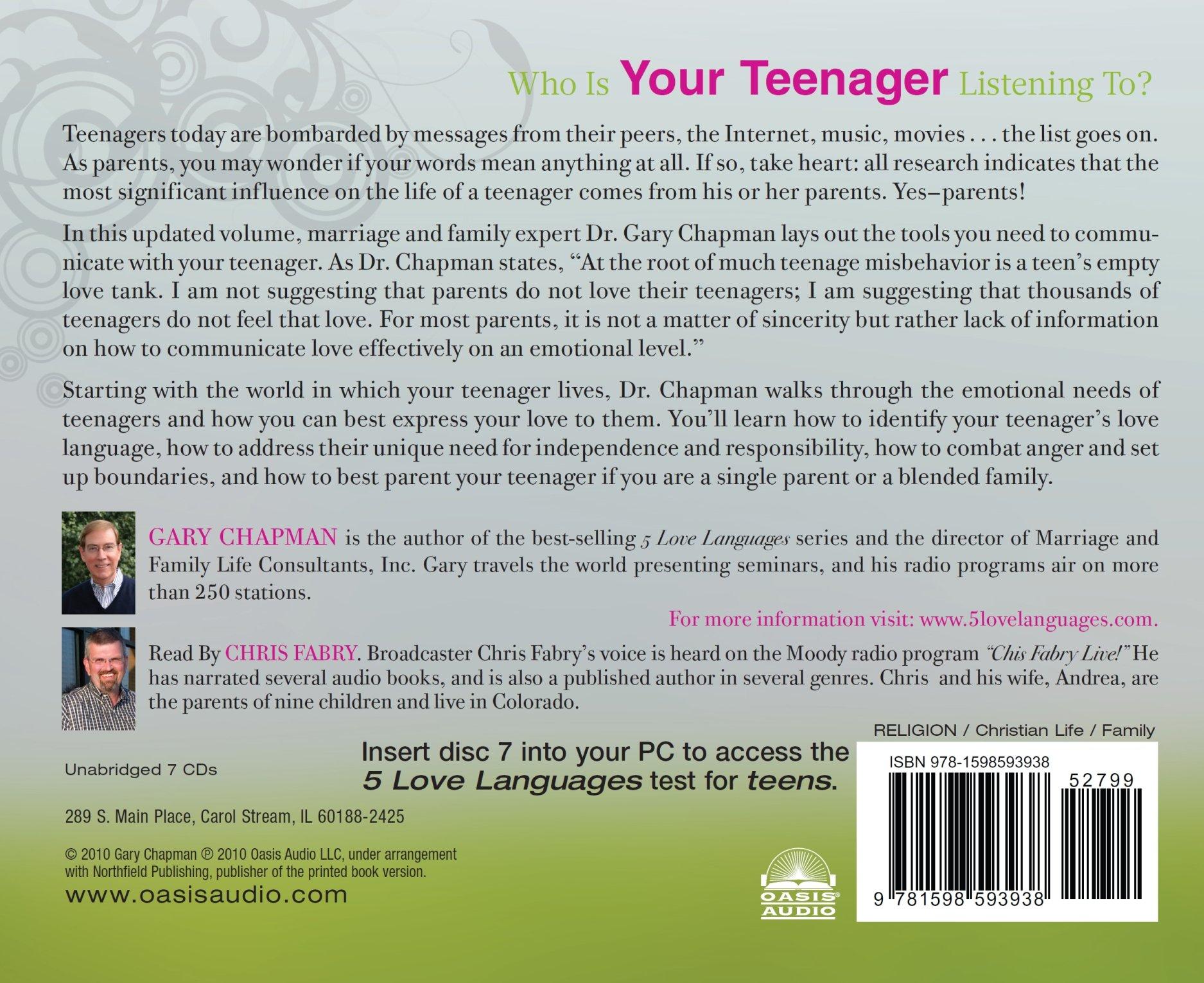 The 5 Love Languages Ofagers Gary Chapman Chris Fabry 9781598593938 Amazon Com Books