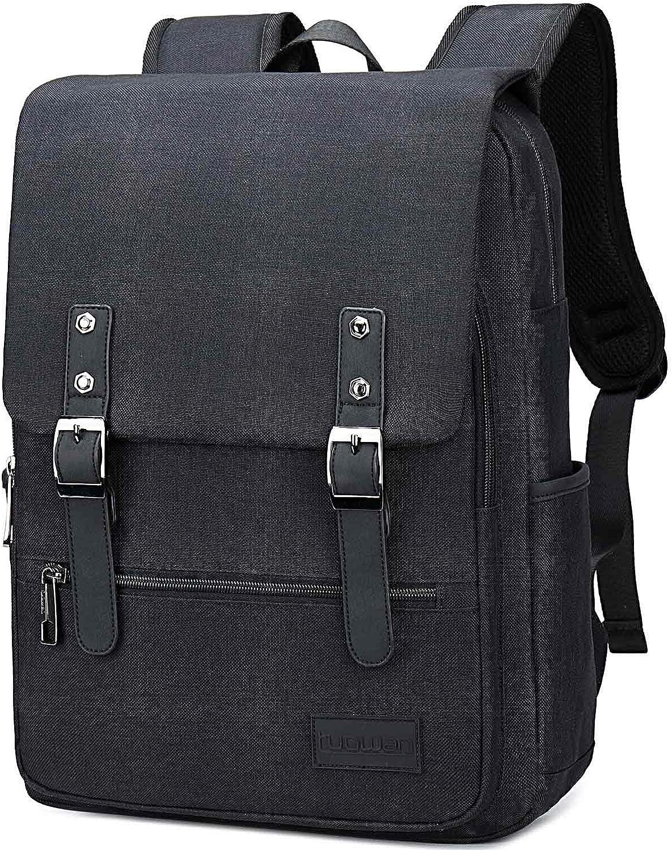 School College Laptop Backpack Bookbag 15.6 inch Laptop Travel Rucksack Bag for Men Women