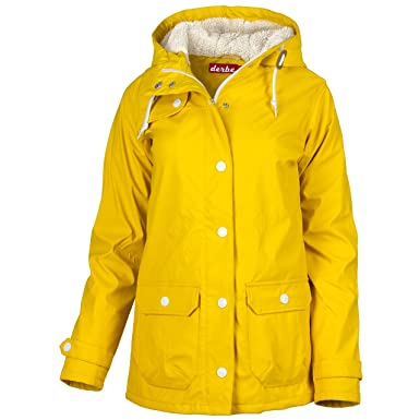 Winterjacke Derbe Peninsula Damen46Gelb Cozy 6gybf7