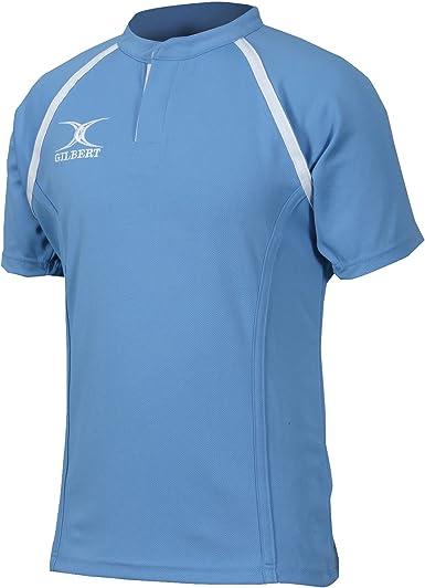Gilbert Rugby - Camiseta de manga corta de rugby modelo Xact para niños: Amazon.es: Ropa y accesorios