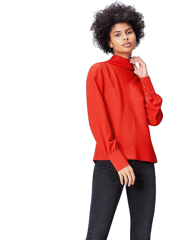 find. AN5478, Blusa de Cuello Alto Para Mujer