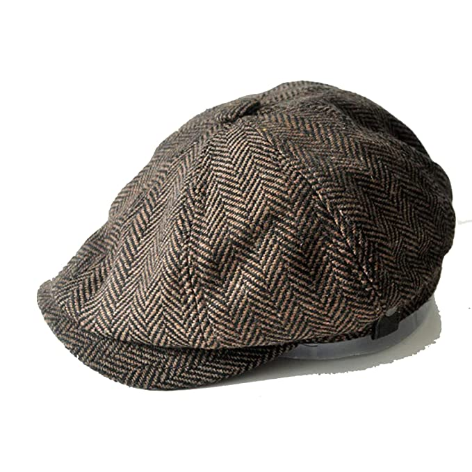 Men and Women Hats Gorras Planas Octagonal Cap Leisure and Wool Koala Flat Cap Brown at Amazon Womens Clothing store: