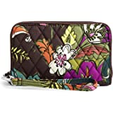 Vera Bradley Women's Signature Cotton Grab & Go Wristlet with RFID Protection