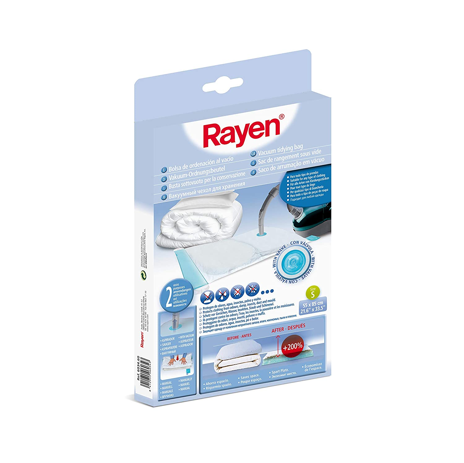 Amazon.com: RAYEN 6034.60 21.6 by 33.5-Inch Vacuum Bags ...